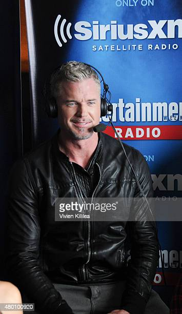 Actor Eric Dane attends SiriusXM's Entertainment Weekly Radio Channel Broadcasts From ComicCon 2015 at Hard Rock Hotel San Diego on July 9 2015 in...
