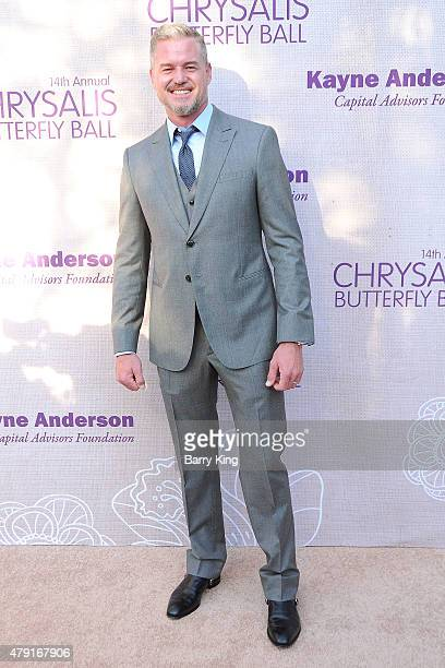 Actor Eric Dane attends the 14th annual Chrysalis Butterfly Ball sponsored by Audi Kayne Anderson Lauren B Beauty and Z Gallerie on June 6 2015 in...