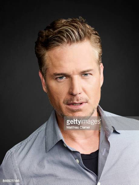 Actor Eric Dane from 'The Last Ship' is photographed for Entertainment Weekly Magazine on July 21 2016 at Comic Con in the Hard Rock Hotel in San...