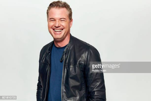 Actor Eric Dane from TNT's 'The Last Ship' poses for a portrait during ComicCon 2017 at Hard Rock Hotel San Diego on July 23 2017 in San Diego...