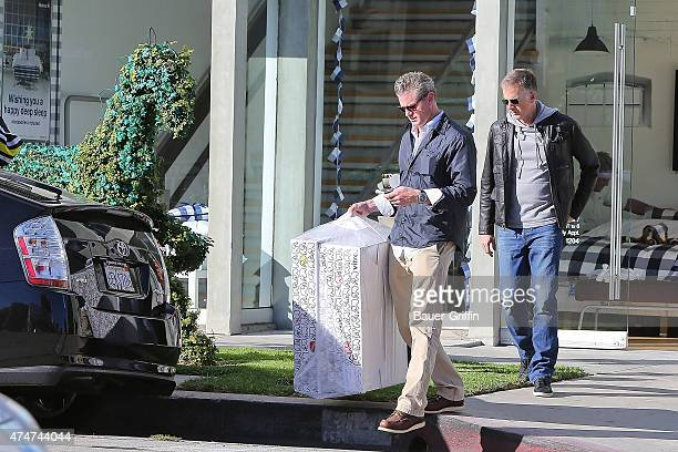 Actor Eric Dane is seen leaving a furniture shop on November 09 2012 in Los Angeles California