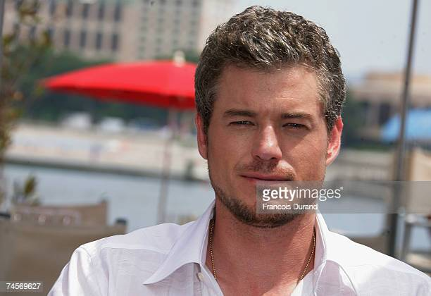 Actor Eric Dane poses for a portrait session on the second day of the 2007 Monte Carlo Television Festival held at Grimaldi Forum on June 12 2007 in...