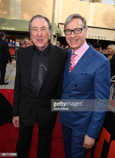 Actor Eric Idol and filmmaker Paul Feig attend the premiere of 20th Century Fox's Snatched at Regency Village Theatre on May 10 2017 in Westwood...