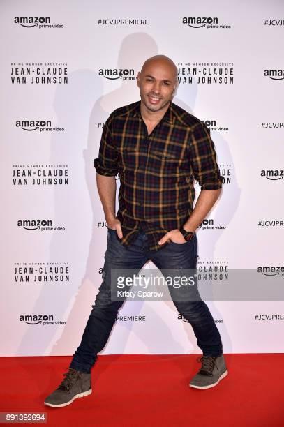 Actor Eric Judor attends the Amazon TV series 'Jean Claude Van Johnson' Premiere at Le Grand Rex on December 12 2017 in Paris France