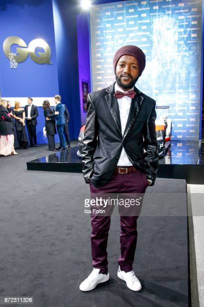 Actor Eric Kabongo arrives for the GQ Men of the year Award 2017 at Komische Oper on November 9 2017 in Berlin Germany