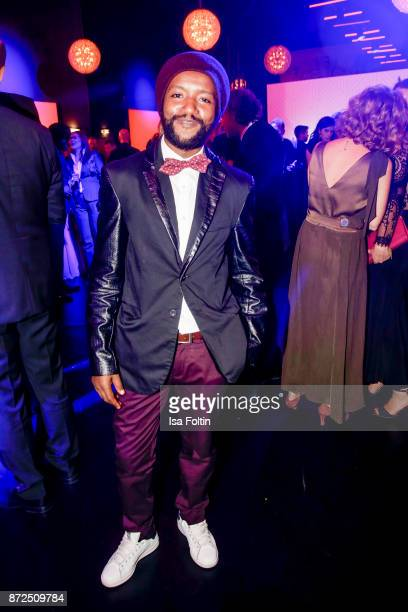 Actor Eric Kabongo attends the GQ Men of the year Award 2017 after show party at Komische Oper on November 9 2017 in Berlin Germany