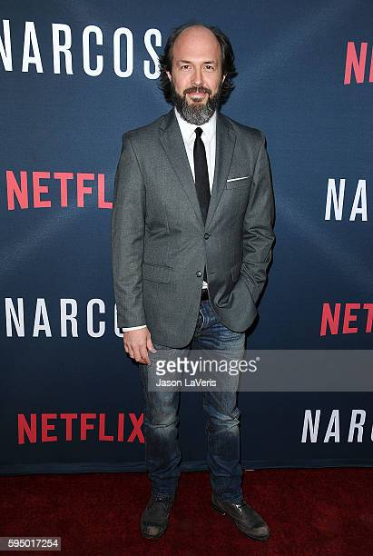 Actor Eric Lange attends the season 2 premiere of 'Narcos' at ArcLight Cinemas on August 24 2016 in Hollywood California