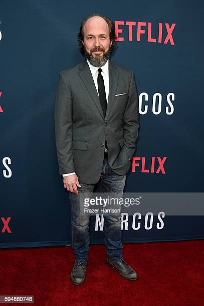 Actor Eric Lange attends the Season 2 premiere of Netflix's 'Narcos' at ArcLight Cinemas on August 24 2016 in Hollywood California