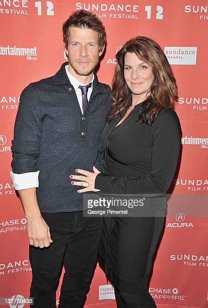 Actor Eric Mabius and Ivy Sherman attend the Price Check premiere during the 2012 Sundance Film Festival held at Eccles Center Theatre on January 25...