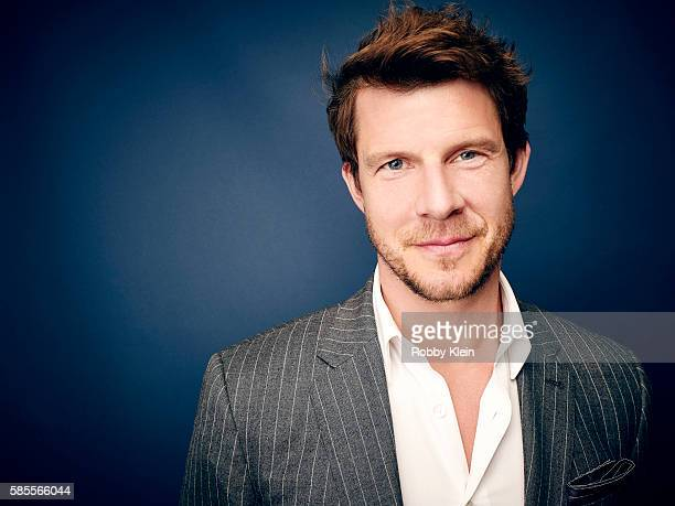 Actor Eric Mabius is photographed at the Hallmark Channel Summer 2016 TCA's on July 27 2016 in Los Angeles California