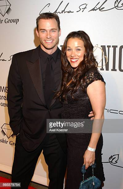 Actor Eric Martsolf and wife Lisa Kouchak arrive at the Day Night international ballroom dancing event in the Grand Ballroom in Hollywood