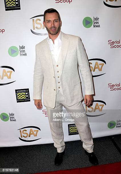 Actor Eric Martsolf arrives at the 7th Annual Indie Series Awards held at El Portal Theatre on April 6 2016 in North Hollywood California