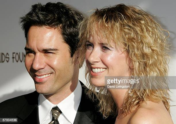 Actor Eric McCormack and his wife Janet Holden arrives at the 14th Annual Elton John Academy Awards viewing party held at the Pacific Design Center...