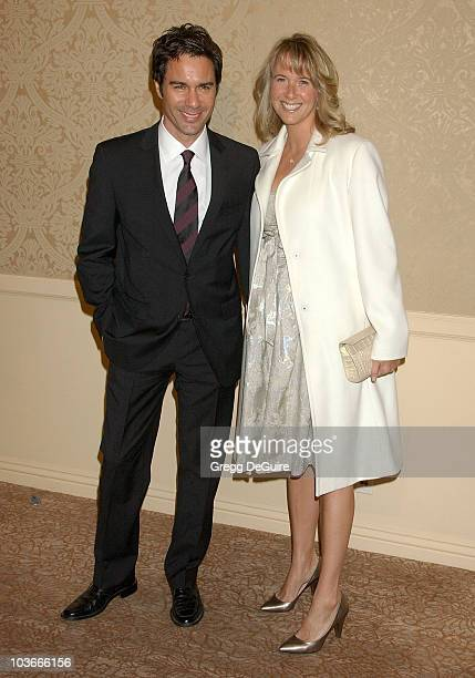 Actor Eric McCormack and wife Janet Holden arrive at Project Angel Food's Divine Design Gala Awards dinner at the Beverly Hilton Hotel on November 29...