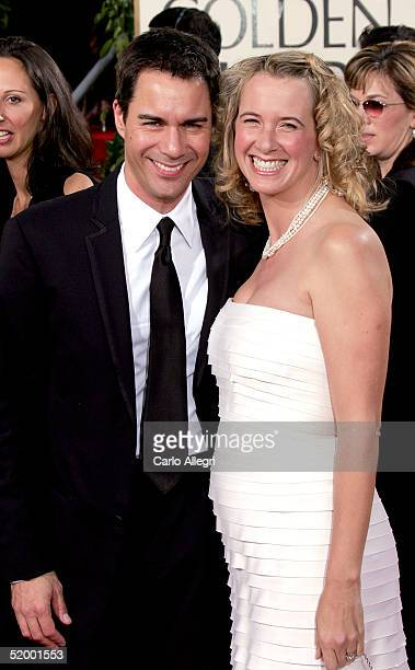 Actor Eric McCormack and wife Janet Holden arrive to the 62nd Annual Golden Globe Awards at the Beverly Hilton Hotel January 16 2005 in Beverly Hills...