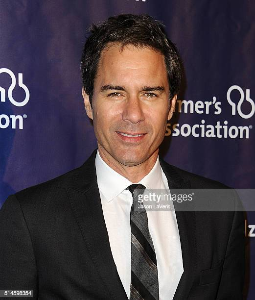 Actor Eric McCormack attends the 2016 Alzheimer's Association's 'A Night At Sardi's' at The Beverly Hilton Hotel on March 9 2016 in Beverly Hills...