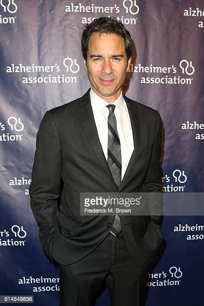 Actor Eric McCormack attends the 24th and final 'A Night at Sardi's' to benefit the Alzheimer's Association at The Beverly Hilton Hotel on March 9...