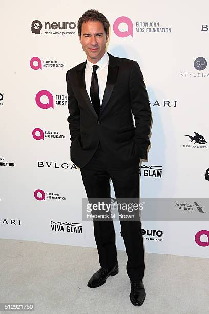 Actor Eric McCormack attends the 24th Annual Elton John AIDS Foundation's Oscar Viewing Party on February 28 2016 in West Hollywood California