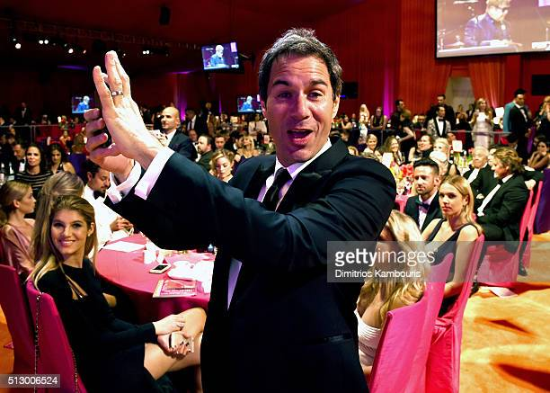 Actor Eric McCormack attends the 24th Annual Elton John AIDS Foundation's Oscar Viewing Party at The City of West Hollywood Park on February 28 2016...