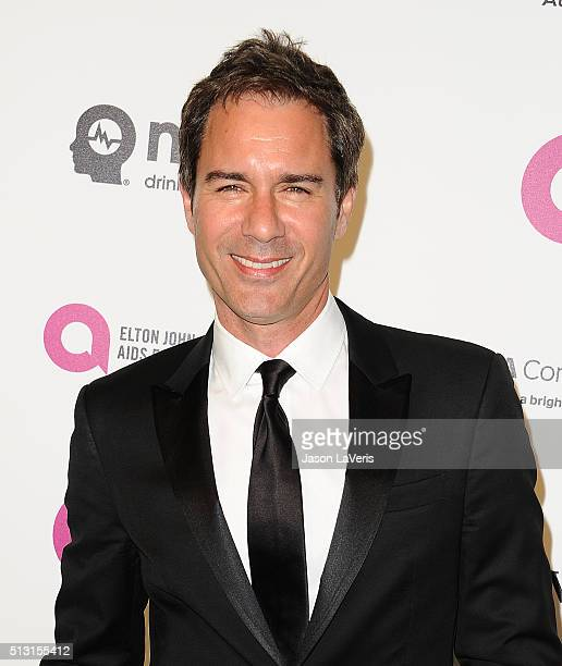 Actor Eric McCormack attends the 24th annual Elton John AIDS Foundation's Oscar viewing party on February 28, 2016 in West Hollywood, California.