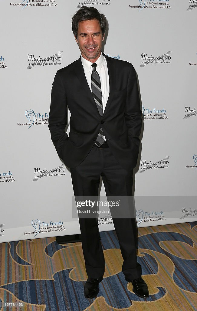 Actor Eric McCormack attends the Friends of the Semel Institute for Neuroscience & Human Behavior at UCLA's Inaugural Music and the Mind gala at the Regent Beverly Wilshire Hotel on April 28, 2013 in Beverly Hills, California.
