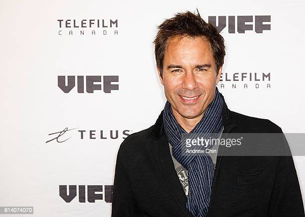 Actor Eric McCormack attends the screening of 'The Architect' during the Vancouver International Film Festival at the Vancouver Playhouse on October...