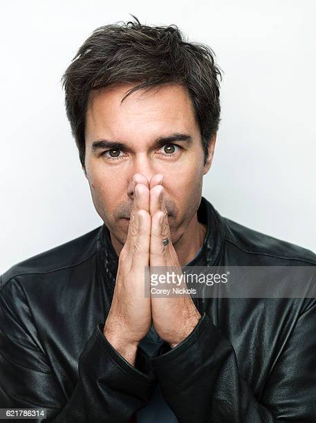 Actor Eric McCormack is photographed for Emmy Magazine on February 12 2016 in Toluca Lake California