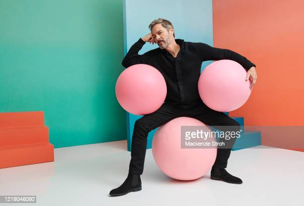 Actor Eric McCormack is photographed for Entertainment Weekly Magazine on February 27, 2020 at Savannah College of Art and Design in Savannah,...