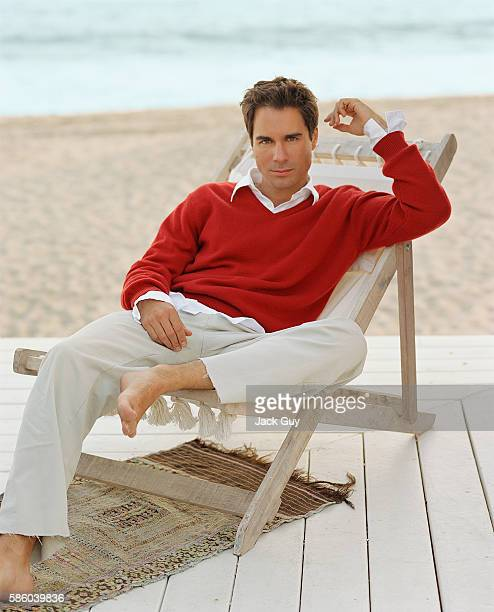 Actor Eric McCormack is photographed for InStyle Magazine in 2001 at home in Los Angeles California