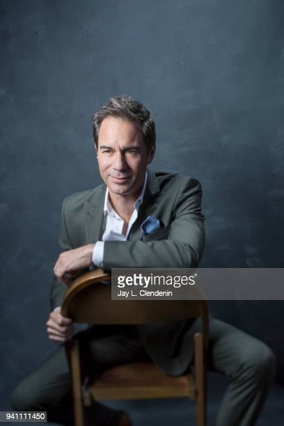 Actor Eric McCormack of 'Will and Grace' is photographed for Los Angeles Times on March 17 2018 at the PaleyFest at the Dolby Theatre in Hollywood...