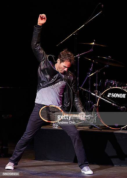 Actor Eric McCormack performs onstage during 'An Evening With Eric McCormack In Support Of Prostate Cancer Canada' at Stanley Industrial Alliance...