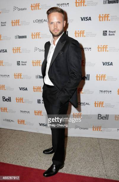 Actor Eric Murdoch attends the October Gale premiere during the 2014 Toronto International Film Festival at Winter Garden Theatre on September 11...