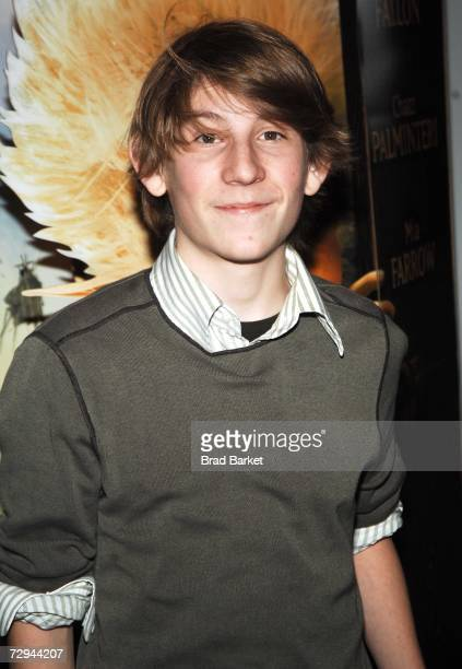 Actor Eric Per Sullivan attends the premiere of Arthur and The Invisibles at the DGA Theater January 7 2007 in New York City