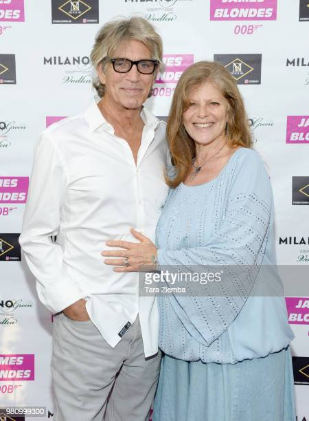 Actor Eric Roberts and actress/casting director Eliza Roberts attend James Blondes' premiere party and QA with Robert Carradine and Julie Lake at Bar...