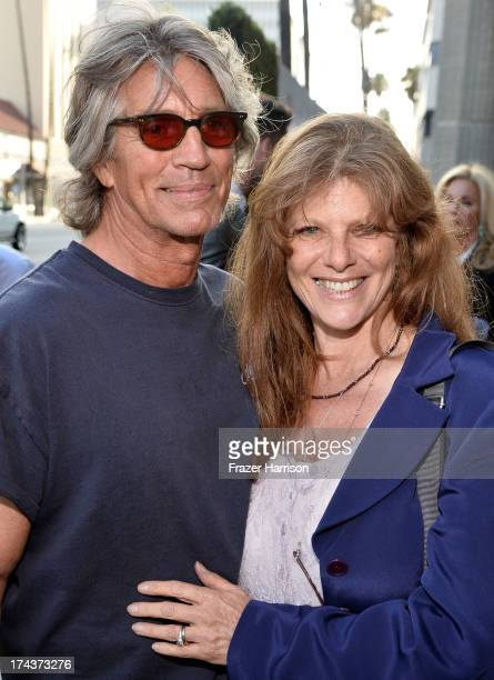 Actor Eric Roberts and Eliza Roberts arrive at the premiere of Blue Jasmine hosted by AFI Sony Picture Classics at AMPAS Samuel Goldwyn Theater on...