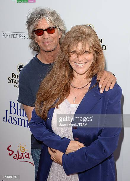 Actor Eric Roberts and Eliza Roberts arrive at the premiere of 'Blue Jasmine' hosted by AFI Sony Picture Classics at AMPAS Samuel Goldwyn Theater on...