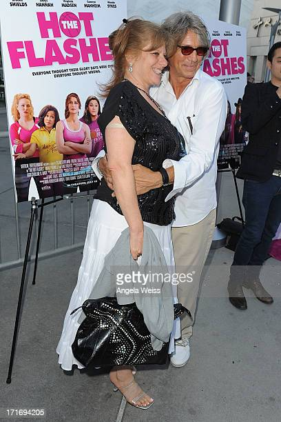 Actor Eric Roberts and Eliza Roberts arrive at the premiere of 'The Hot Flashes' at ArcLight Cinemas on June 27 2013 in Hollywood California