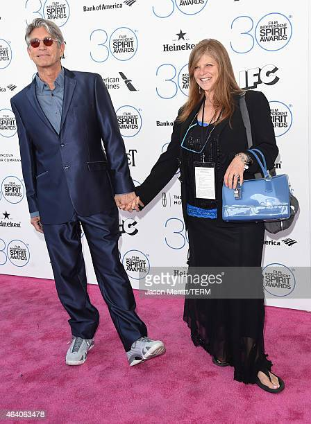 Actor Eric Roberts and Eliza Roberts attend the 2015 Film Independent Spirit Awards at Santa Monica Beach on February 21 2015 in Santa Monica...