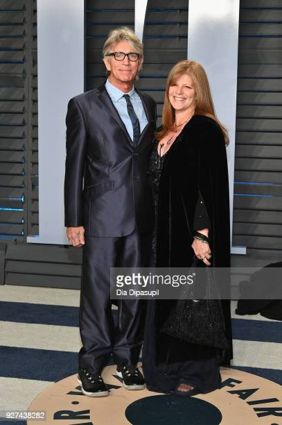 Actor Eric Roberts and Eliza Roberts attend the 2018 Vanity Fair Oscar Party hosted by Radhika Jones at Wallis Annenberg Center for the Performing...