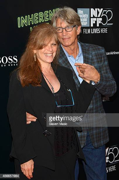 Actor Eric Roberts and Eliza Roberts attend the Centerpiece Gala Presentation and World Premiere of Inherent Vice during the 52nd New York Film...