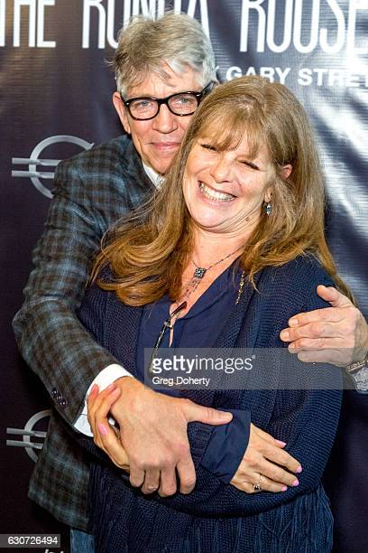 Actor Eric Roberts and his wife Eliza Roberts attend the Screening Of Through My Father's Eyes The Ronda Rousey Story at the TCL Chinese Theatre 6 on...