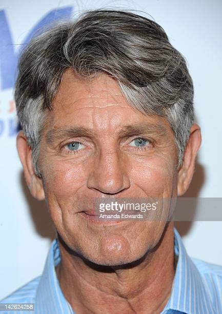 Actor Eric Roberts arrives at G Tom Mac's CD release party for Untame The Songs at Rolling Stone Restaurant Lounge on April 9 2012 in Los Angeles...