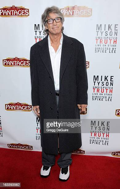 Actor Eric Roberts arrives at the Los Angeles opening night of Mike Tyson Undisputed Truth at the Pantages Theatre on March 8 2013 in Hollywood...