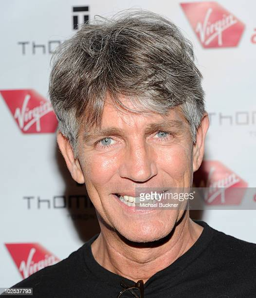 Actor Eric Roberts attend the launch of Virgin America's first international destination to Toronto at the Thompson Hotel on June 29 2010 in Toronto...