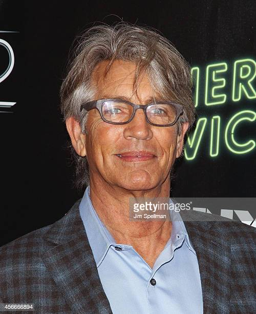 Actor Eric Roberts attends the 'Inherent Vice' Centerpiece Gala Presentation World Premiere during the 52nd New York Film Festival at Alice Tully...