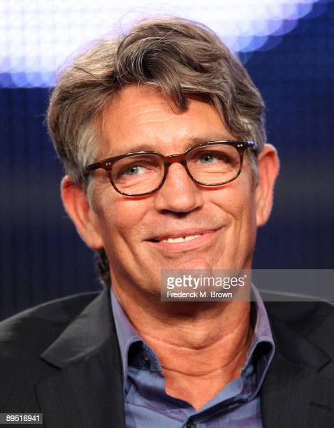 Actor Eric Roberts of the television show Crash speaks during the Starz Network segment of the Television Critics Association Press Tour at the Ritz...