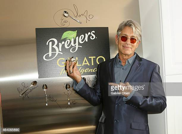 Actor Eric Roberts stopped by the Breyers Gelato Indulgences Lounge backstage at the 30th Annual Film Independent Spirit Awards on February 21 2015...