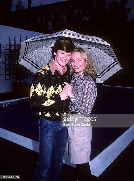 Actor Eric Scott and wife Karey-Louis pose for an exclusive photo session on January 20, 1982 at Karey-Louis and Eric Scott's condo in Studio City,...