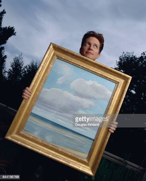 Actor Eric Stoltz Holding The Inlet by Clyde Scott