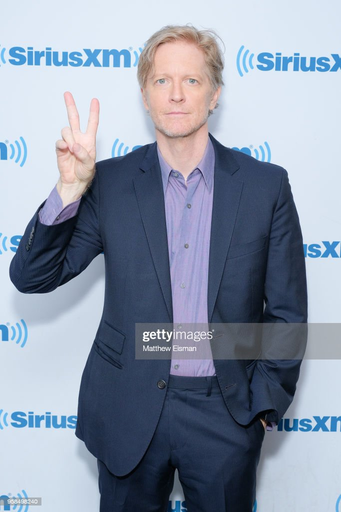 Actor Eric Stoltz visits SiriusXM Studios on May 14, 2018 in New York City.